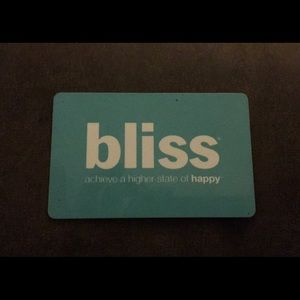Bliss Spa Gift Card ($50 value)